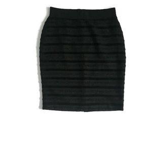 Ann Taylor Petite Black Pencil Skirt